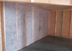 Ossature bois, remplissage en ouate de cellulose projetée humide