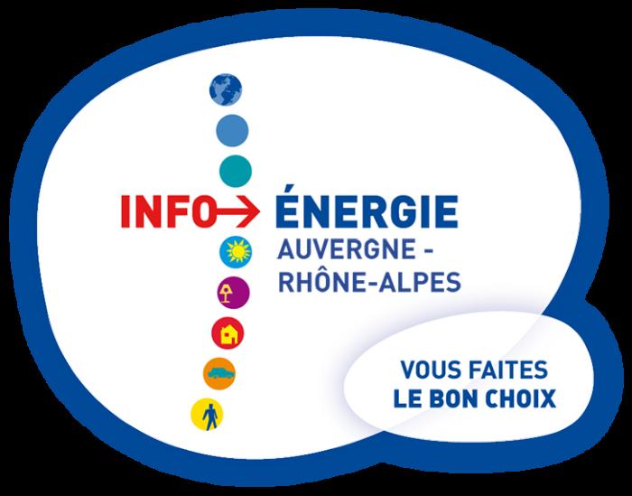 Logo info énergie auvergne rhône alpes